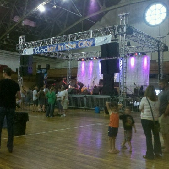 Photo taken at Main Street Armory by Paula S. on 7/26/2012