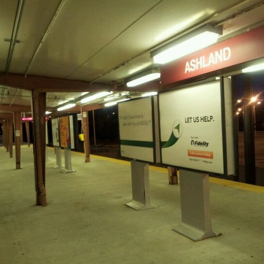 Photo taken at PATCO: Ashland Station by Jason E. on 5/3/2012