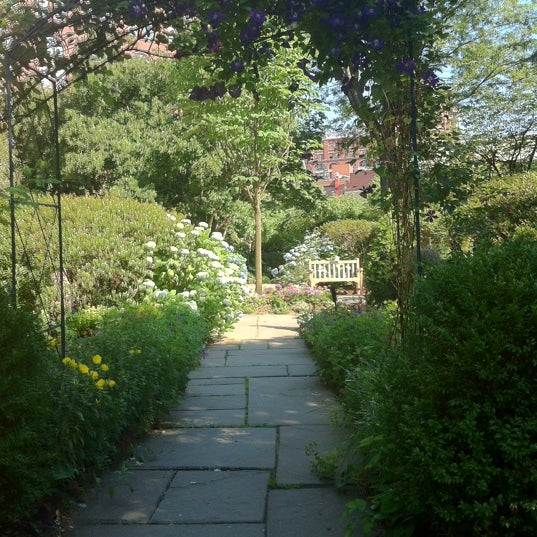 Photo taken at The Garden at St. Luke in the Fields by Gene S. on 5/31/2012