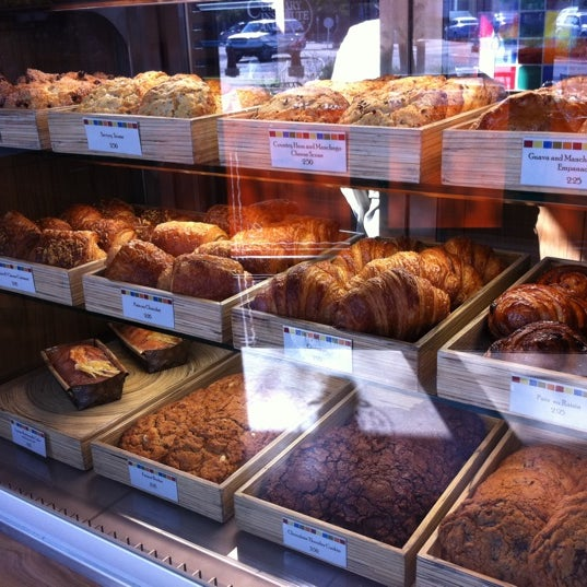 Photo taken at CIA Bakery Cafe by Devin R. on 5/16/2011
