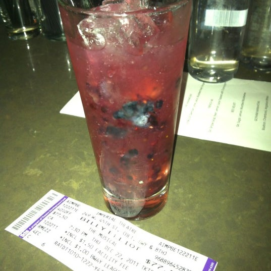 2-4-1 drinks with a Billy Elliott tix stub!