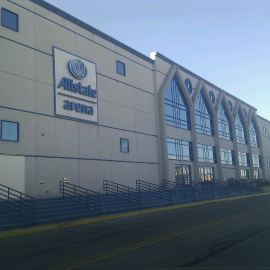 Photo taken at Allstate Arena by Emin D. on 12/26/2011