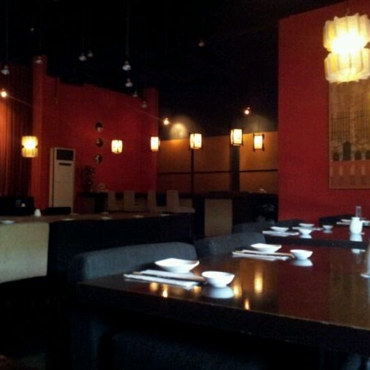 Photo taken at Nori The Japanese Kitchen Lounge by Antony T. on 4/14/2012