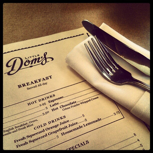 Photo taken at Little Dom's by April T. on 4/8/2012