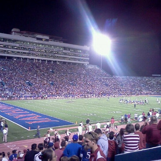 Photo taken at Memorial Stadium by Corey B. on 10/16/2011