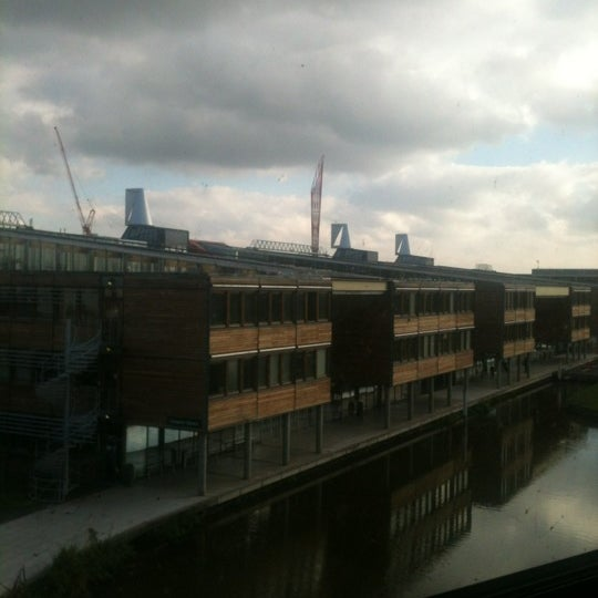 Photo taken at Djanogly Learning Resource Centre by Khalid B. on 10/16/2011