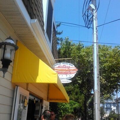 Photo taken at Hotdog Tommy's by amanda w. on 7/24/2012