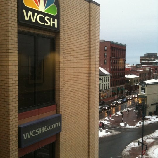 Photo taken at WCSH 6 by Joe W. on 3/2/2012