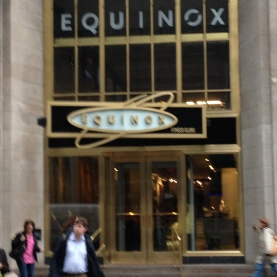 Equinox East 44th Street Midtown East New York Ny