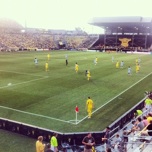 Photo taken at MAPFRE Stadium by David B. on 7/15/2012