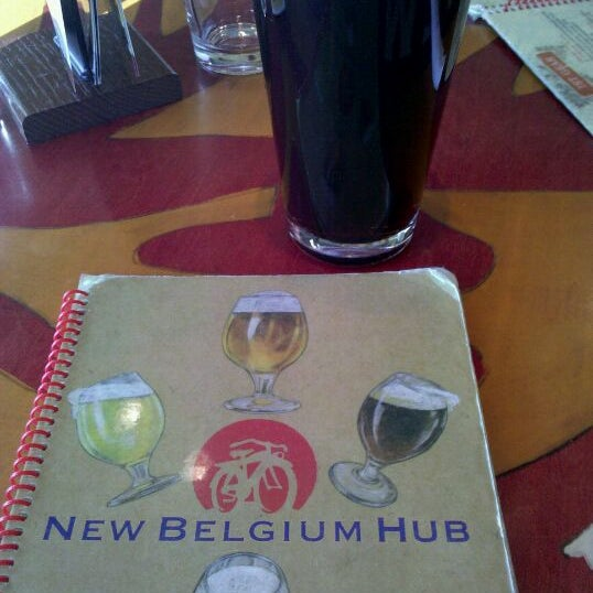 Photo taken at New Belgium Brewing Hub by Mike H. on 11/8/2011