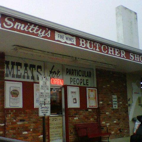 Old Fashioned Butcher Shop