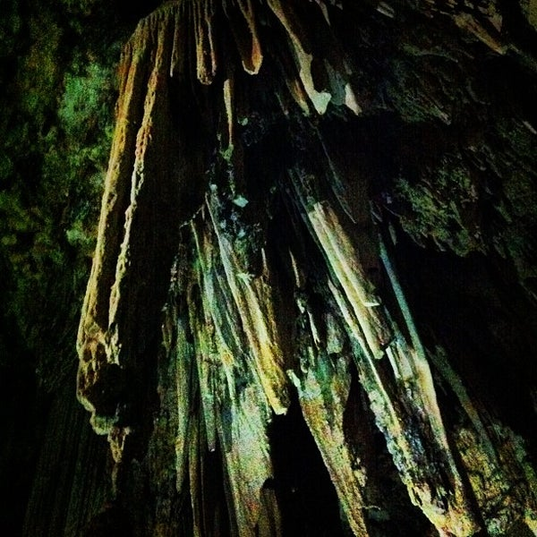 Photo taken at Cueva de Nerja by Benjamin B. on 9/3/2012