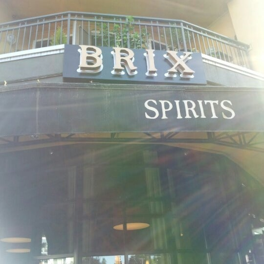 Brix Wine Cafe Menu