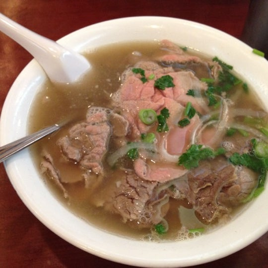 Photo taken at Pho Bac by Nick F. on 4/16/2012