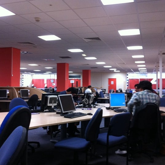 Photo taken at Northumbria University Library by Yao loong O. on 12/30/2010