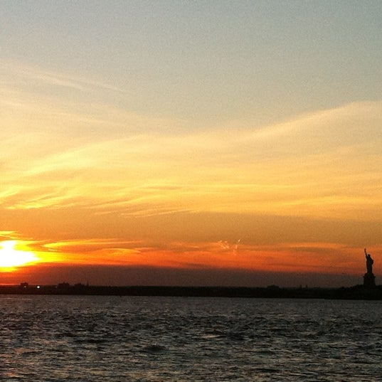 Photo taken at Louis Valentino, Jr. Park & Pier by Esra Y. on 8/24/2011