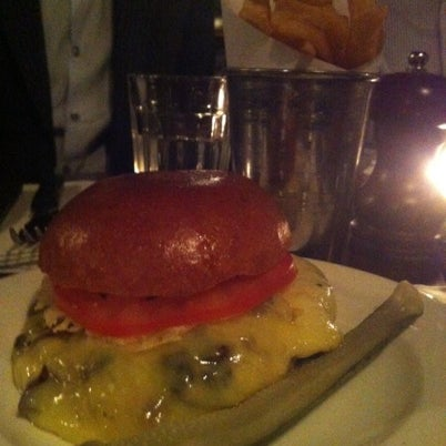 Photo taken at Hawksmoor Spitalfields by Mylin P. on 8/15/2012