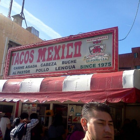 Photo taken at Javier's Tacos Mexico by Lord A. on 2/4/2012