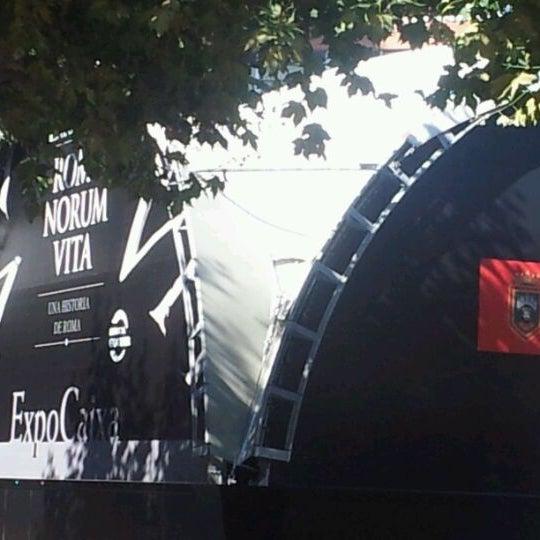 Photo taken at Plaza De España by Gregorio G. on 10/4/2011