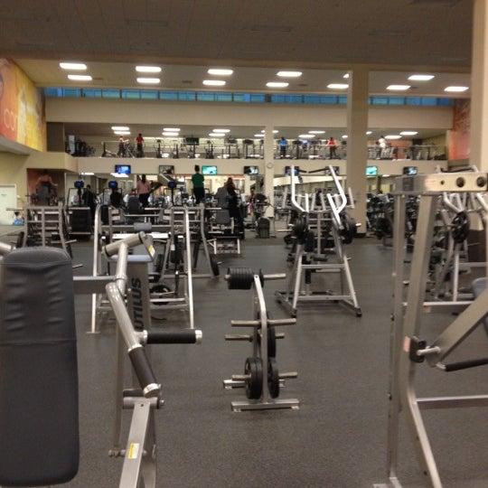 Photo taken at LA Fitness by Samuel J. on 2/24/2012