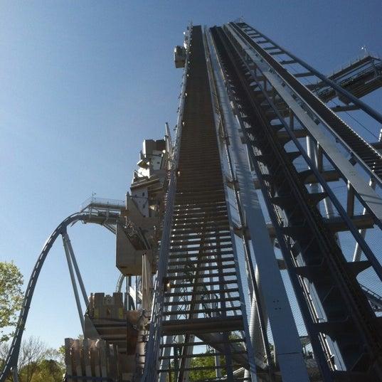 Photo taken at Busch Gardens Williamsburg by Kelly J. on 4/7/2012