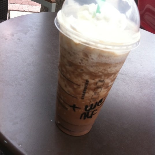 Half off Frappucinos from 3-5pm until May 15th :)
