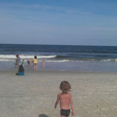 Photo taken at Carolina Beach by Mandi W. on 5/12/2012