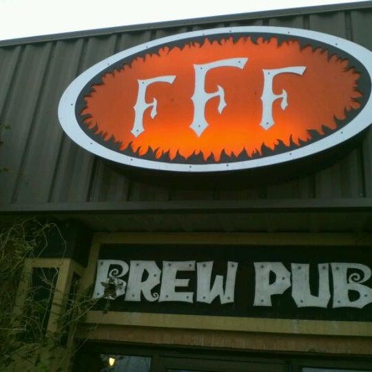 Photo taken at Three Floyds Brewery & Pub by Alex V. on 11/26/2011