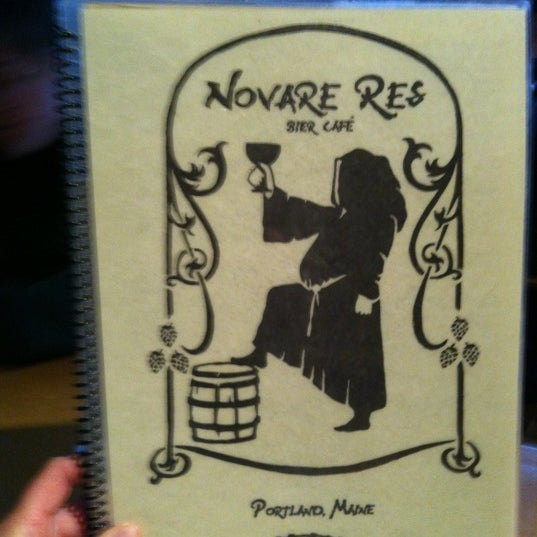 Photo taken at Novare Res Bier Cafe by Salina M. on 4/21/2012