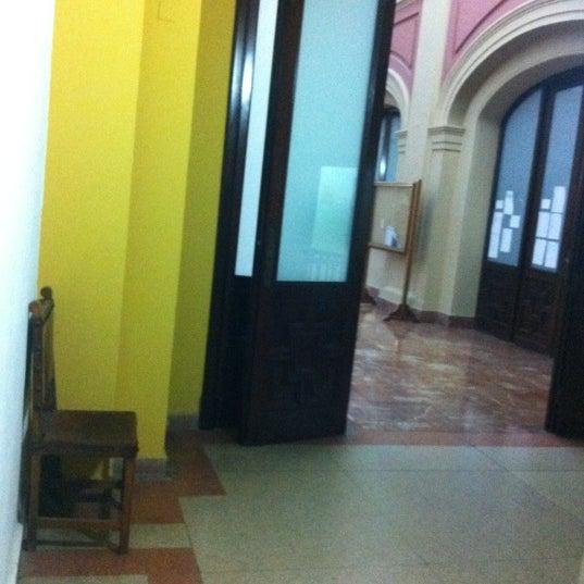 Photo taken at Facultad de Filología by Eraser H. on 5/11/2012