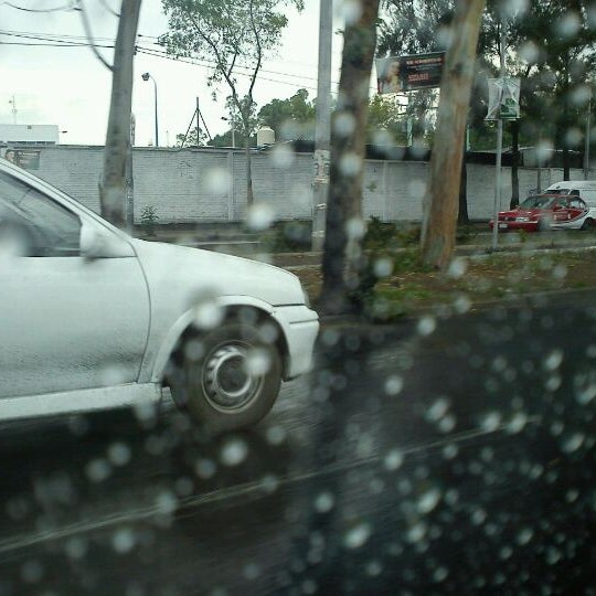 Photo taken at Av. Cuitlahúac by Stephany S. on 6/8/2012
