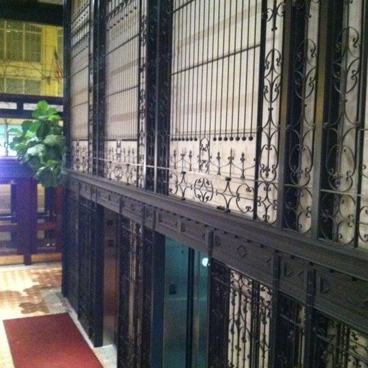 Photo taken at Hotel Burnham by Ira S. on 4/24/2011