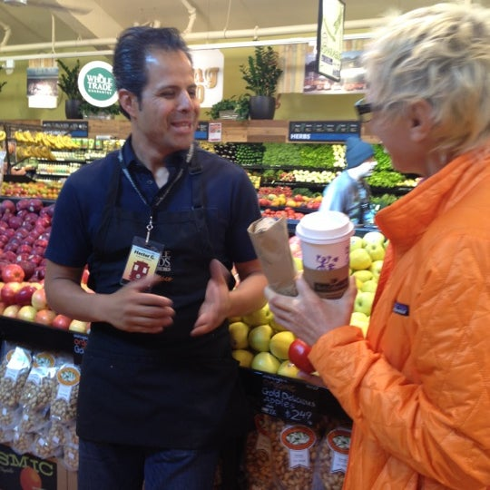 Photo taken at Whole Foods Market by Drew M. on 4/19/2012