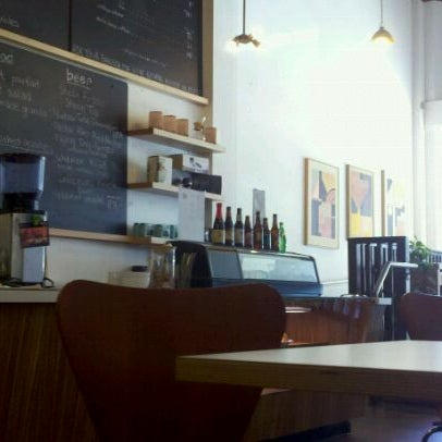 Photo taken at Trabant Coffee and Chai by Nancy K. on 8/26/2011
