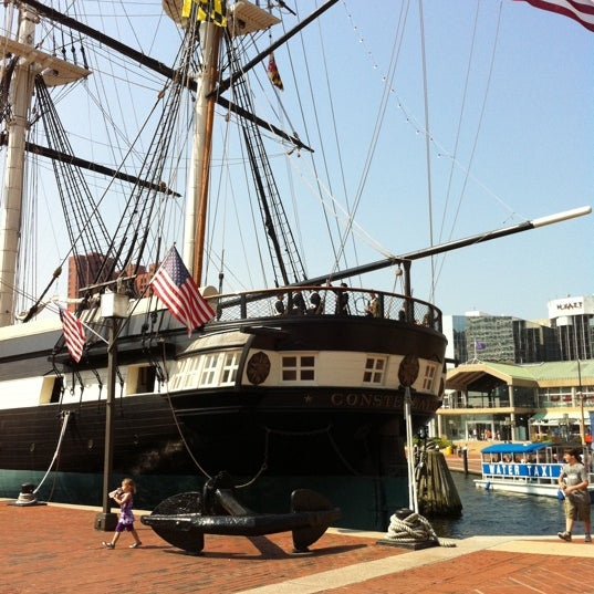 Photo taken at USS Constellation by Erin H. on 8/20/2011