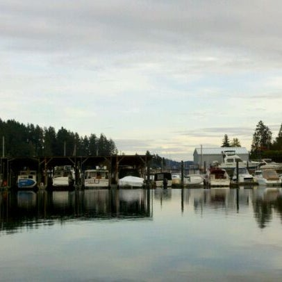 Photo taken at Gig Harbor Waterfront by Jason H. on 11/5/2011