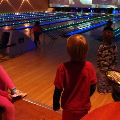 Photo taken at Bowlmor Rockville by Brian G. on 3/30/2012