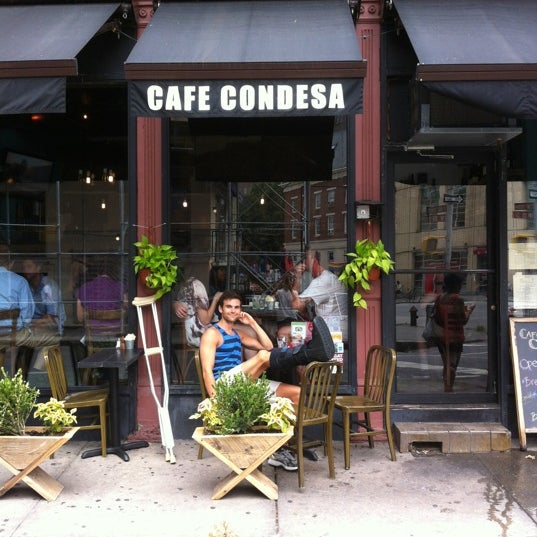 Photo taken at Cafe Condesa by Kent G. on 7/28/2012