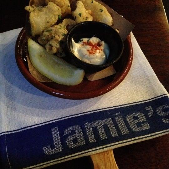 Photo taken at Jamie's Italian by Julius Mak on 8/6/2012