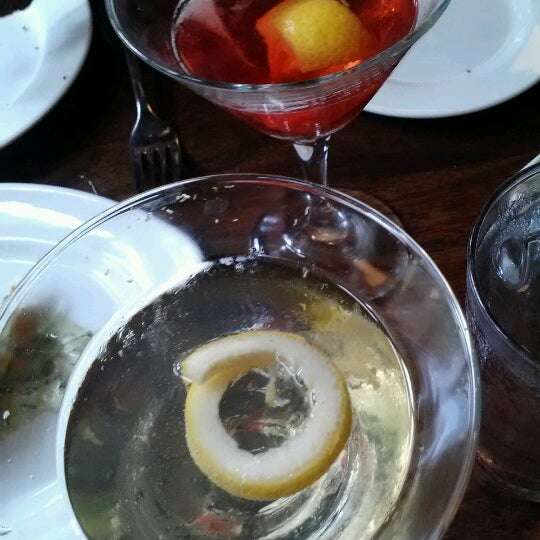 Had chamomile infused vodka martini.. so good. Great service! How it should be everywhere!
