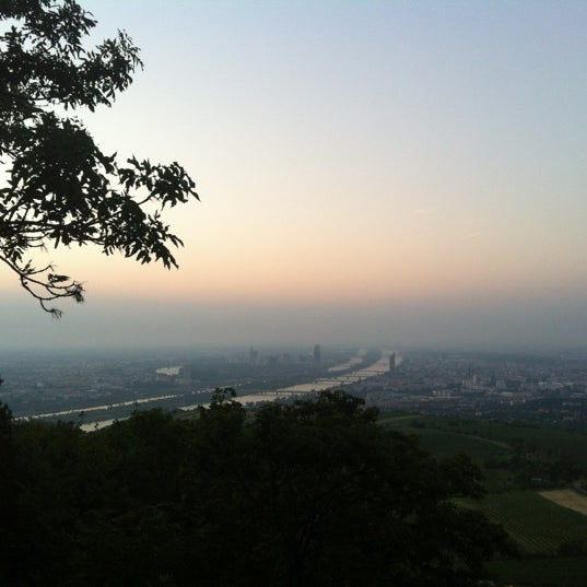 Photo taken at Kahlenberg by Stefan S. on 8/18/2012