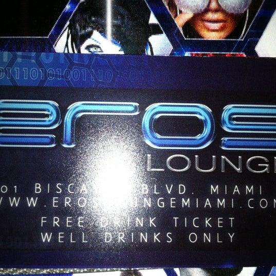 Photo taken at Eros Lounge by Jesse M. on 11/8/2011