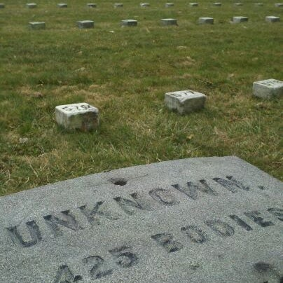 Photo taken at Gettysburg National Cemetery by Erin B. on 1/9/2012