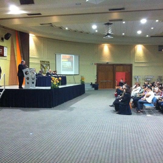 Photo taken at Universidad del Valle de Atemajac (UNIVA) by David on 3/8/2012