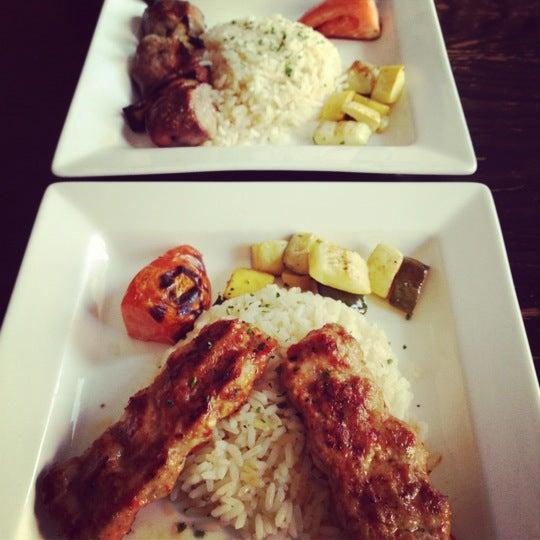 Photo taken at Hanci Turkish Cuisine by Hồng Loan on 4/13/2012