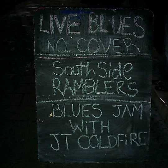 Photo taken at Blue Moon by Dave B. on 1/10/2012