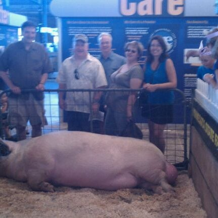 Photo taken at Swine Barn by Michael S. on 8/27/2011