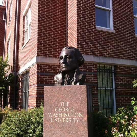 Photo taken at The George Washington University by Jοξγ L. on 6/23/2012