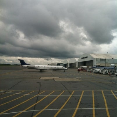 Photo taken at Westchester County Airport (HPN) by Words in a fishbowl on 7/29/2012
